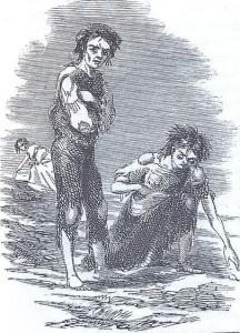 Skibbereen 1847 (by James Mahony)
