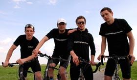 Gearóid, John, Eoghan and Rowan.