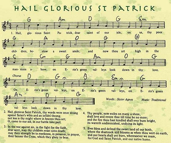Hail Glorious St Patrick